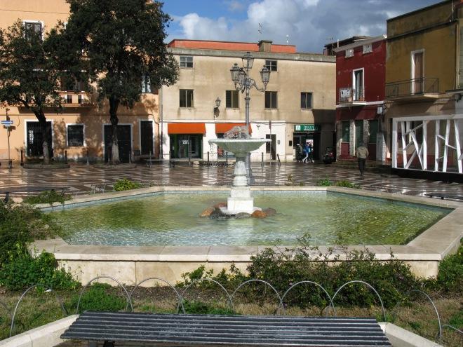 zampillo piazza Italia