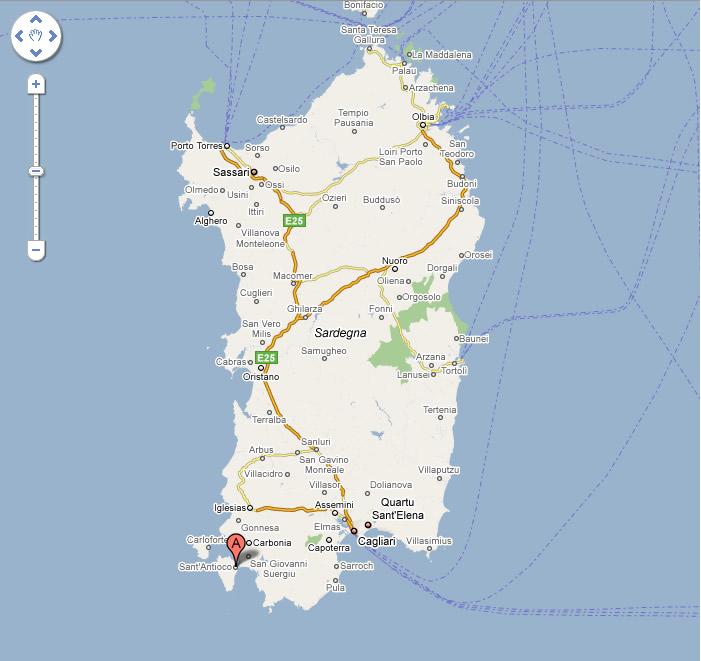Cartina Sardegna Bosa Marina.How To Get To Sant Antioco Visit Sant Antioco
