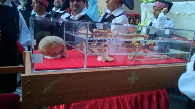 Sant'Antioco martyr's holy relics