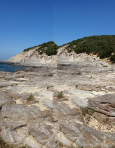 Cala Sapone rocks